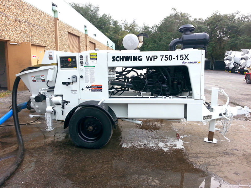 1999 Schwing WP750-15x For Sale | schwing concrete Pumps