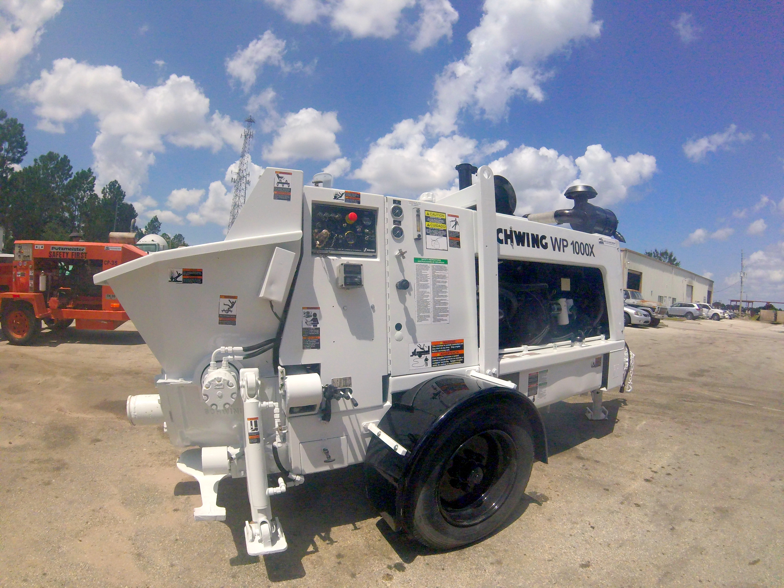 Schwing concrete trailer pump for sale | Refurbished & Ready to go